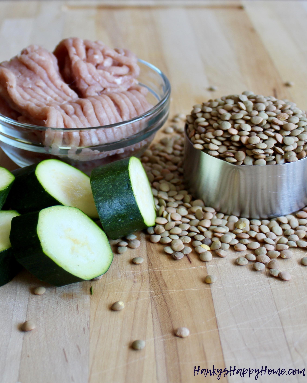 Turkey Lentil Amp Zucchini Puree Baby Food Hanky S Happy Home