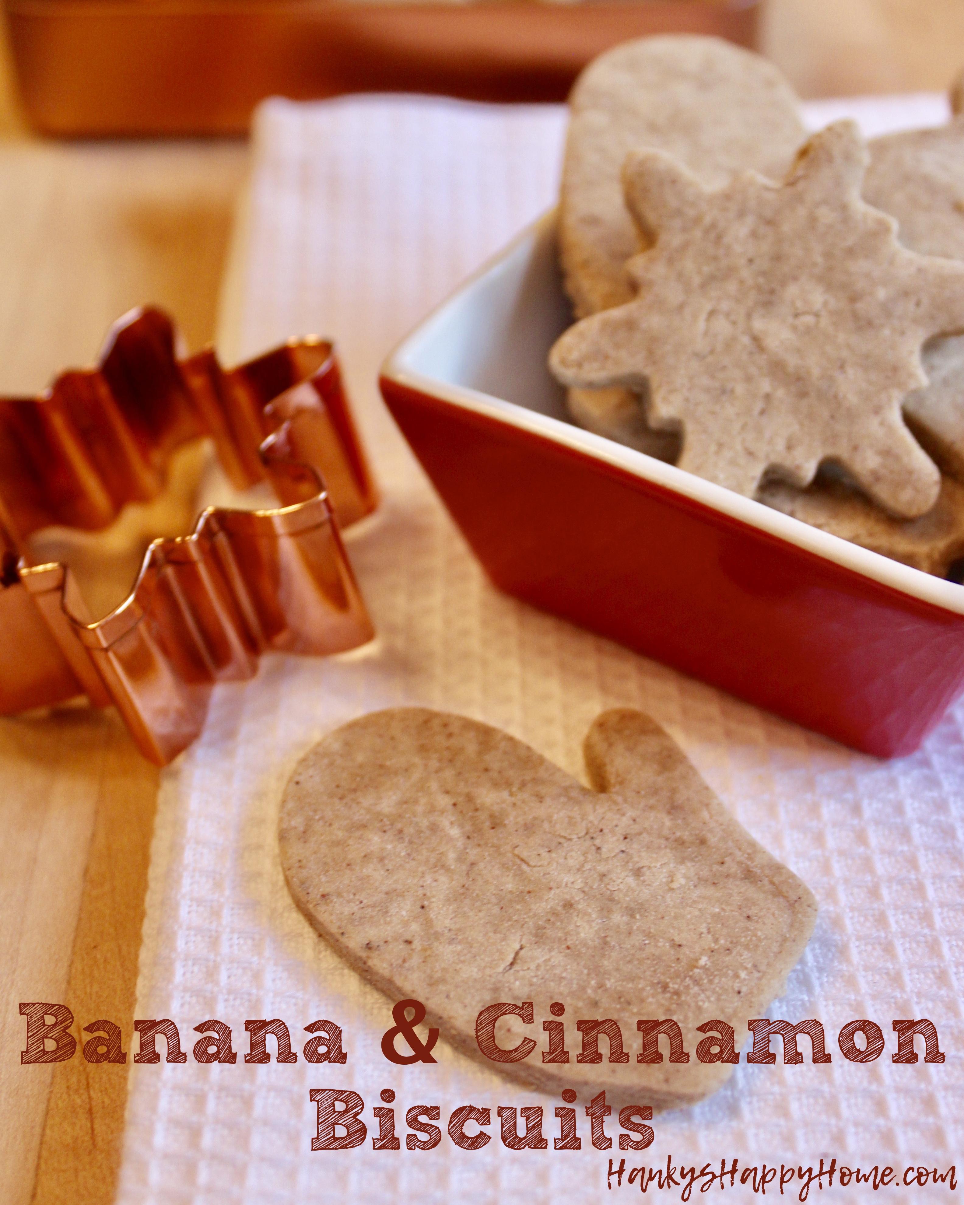 Banana Cinnamon Biscuits