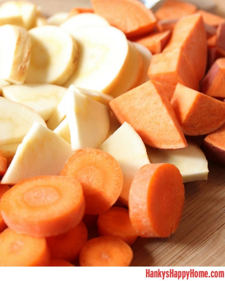 Carrot Sweet Potato Baby Food Recipe